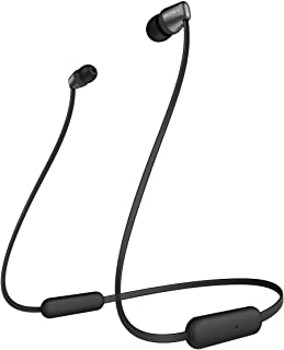 Sony WI-C310 Wireless in-Ear Headphones with 15 Hours Battery Life, Quick Charge, Magnetic Earbuds, Tangle Free Cord, Matt...