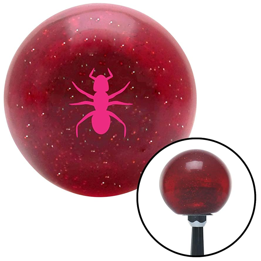 American Shifter 282006 Shift Knob (Company Pink Ant Red Metal Flake with M16 x 1.5 Insert)