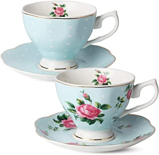 Bone China Teacups Cups Mugs Saucers Home Kitchen