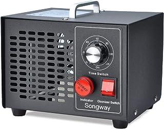 Songway Ozone Generator Esterilizador de aire para eliminar olores, para hogar, cocina, automóvil, garaje, autobús, barco, restaurante, tienda, purificador de aire - Enchufe de la UE (3500mg/h)