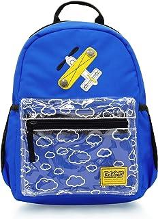 KAL-GAV Airplane Toddler Backpack, Ages 2-5 – Fun, 13 In. Preschool Backpack for Girls & Boys Has Comfortable, Adjustable ...