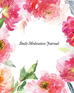 Daily Medication Journal: Undated Medication Checklist Organizer| Medication Administration Record Book| Track Medicine & Dosage Frequency
