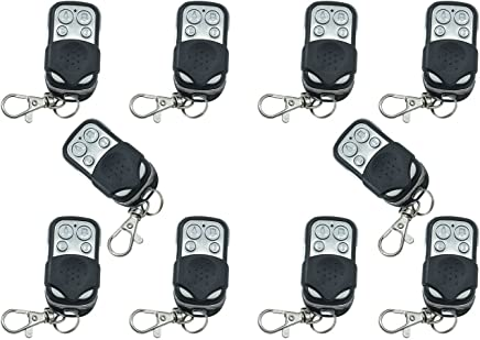 10Mandos a distancia universales para puertas automáticas, frecuencia 433,92MHz, código fijo