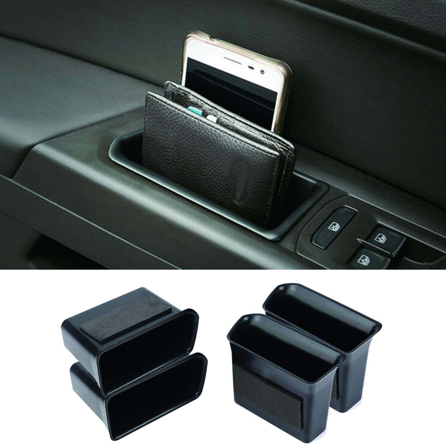 Vesul Armrest Center Console Tray Organizer Secondary Storage Box Divider Compatible with VW Volkswagen Tiguan 2018 2019