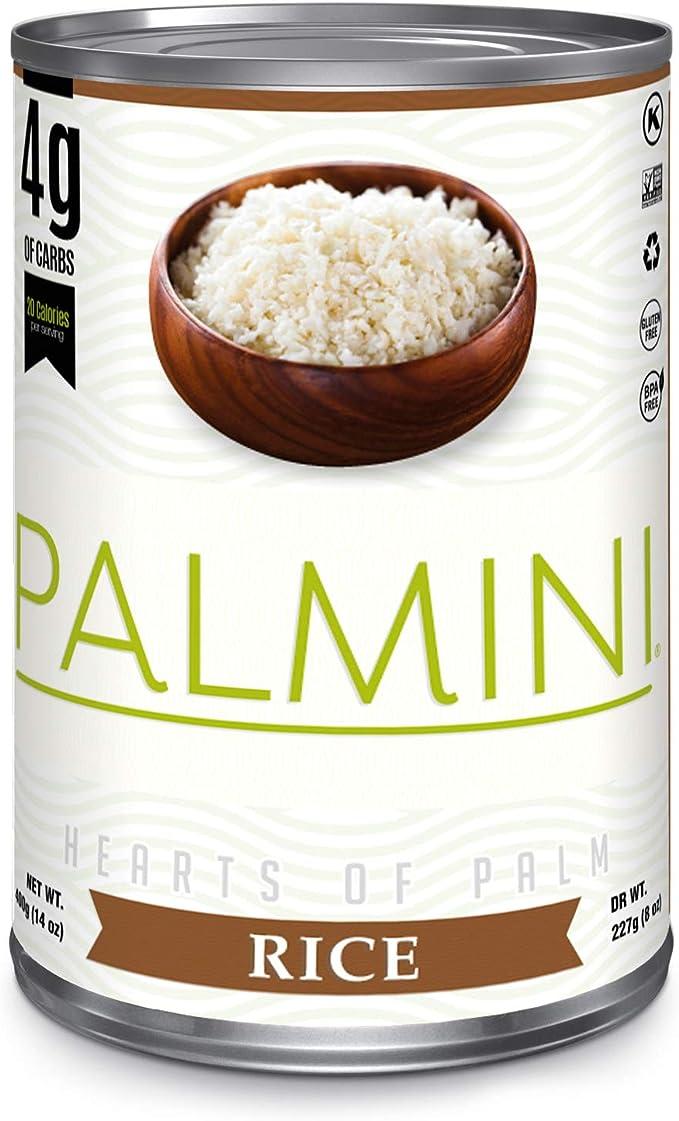 Palmini Arroz Bajo en Carbohidratos   4g de Carbohidratos ...