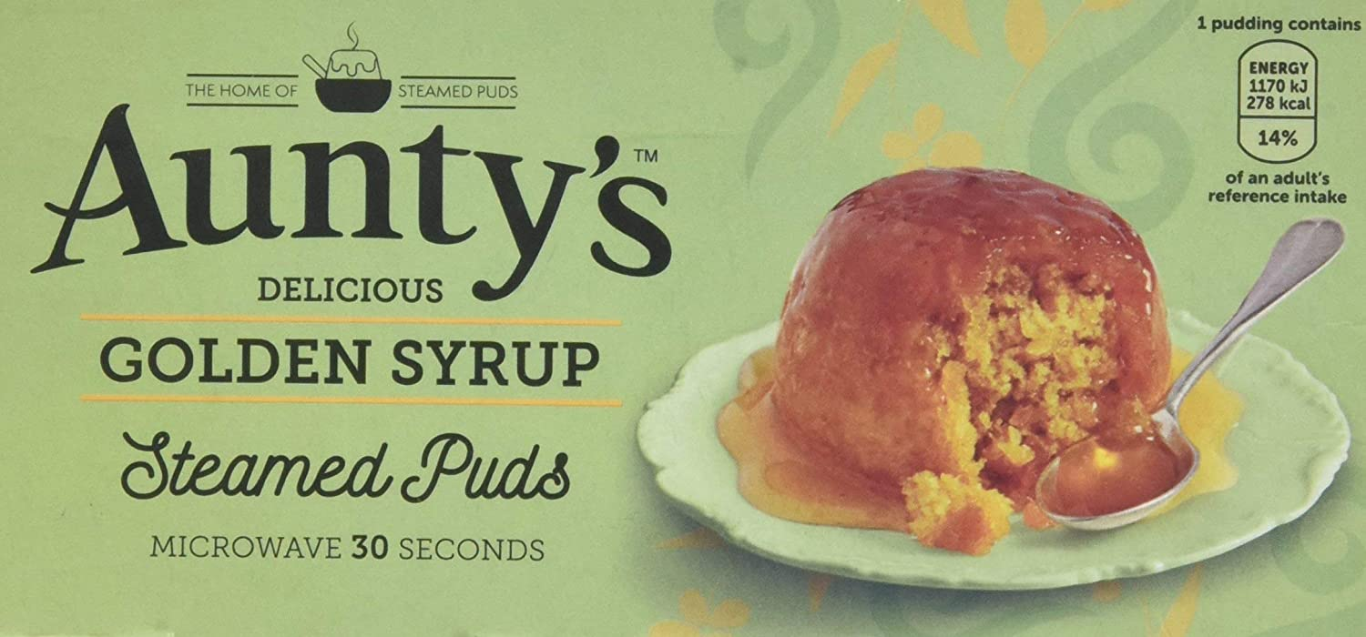 Auntys gift Golden Syrup Pudding OF - 2 SET Max 81% OFF