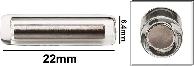 "Bel-Art Products F37101-7814 Scienceware Pyrex Spinbar Stirring Bars, 1/4"" Diameter x 7/8"" Length"