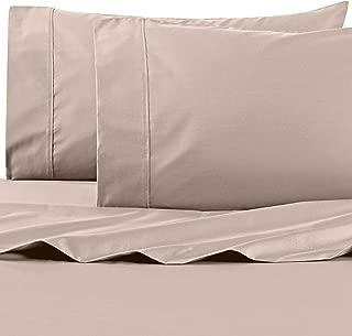 Wamsutta 625-Thread Count PimaCott Queen Sheet Set in Taupe Beige