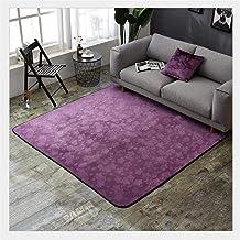 Purple Carpet,Living Room & Bedroom Soft Thick Luxurious/Rectangular/Area Rug Bath Mat Washable Soft mat (Size : 150 * 180cm)