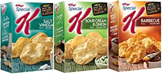 Kellogg's Special K Cracker Chips (Sour Cream Onion and Barbecue and Salt & Vinegar) 3-Pack