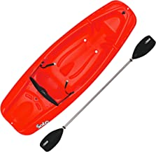 Pelican Solo 6 Feet Sit-on-top Youth Kayak |Pelican Kids Kayak|Perfect for Kids Comes with Kayak Accessories