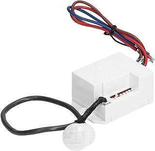 ORNO OR-CR-211/12-24V Mini Bewegingsdetector 360 Graden LED Compatibel 12v-24v Lichtintensiteit Aanpassen En Tijd Instellen