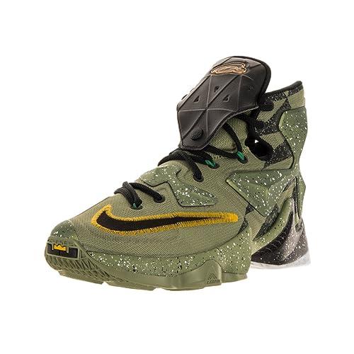 low priced 0ab99 c2535 Nike Men s Lebron XIII Alligator Black Multicolor Basketball Shoe - 11 D(M