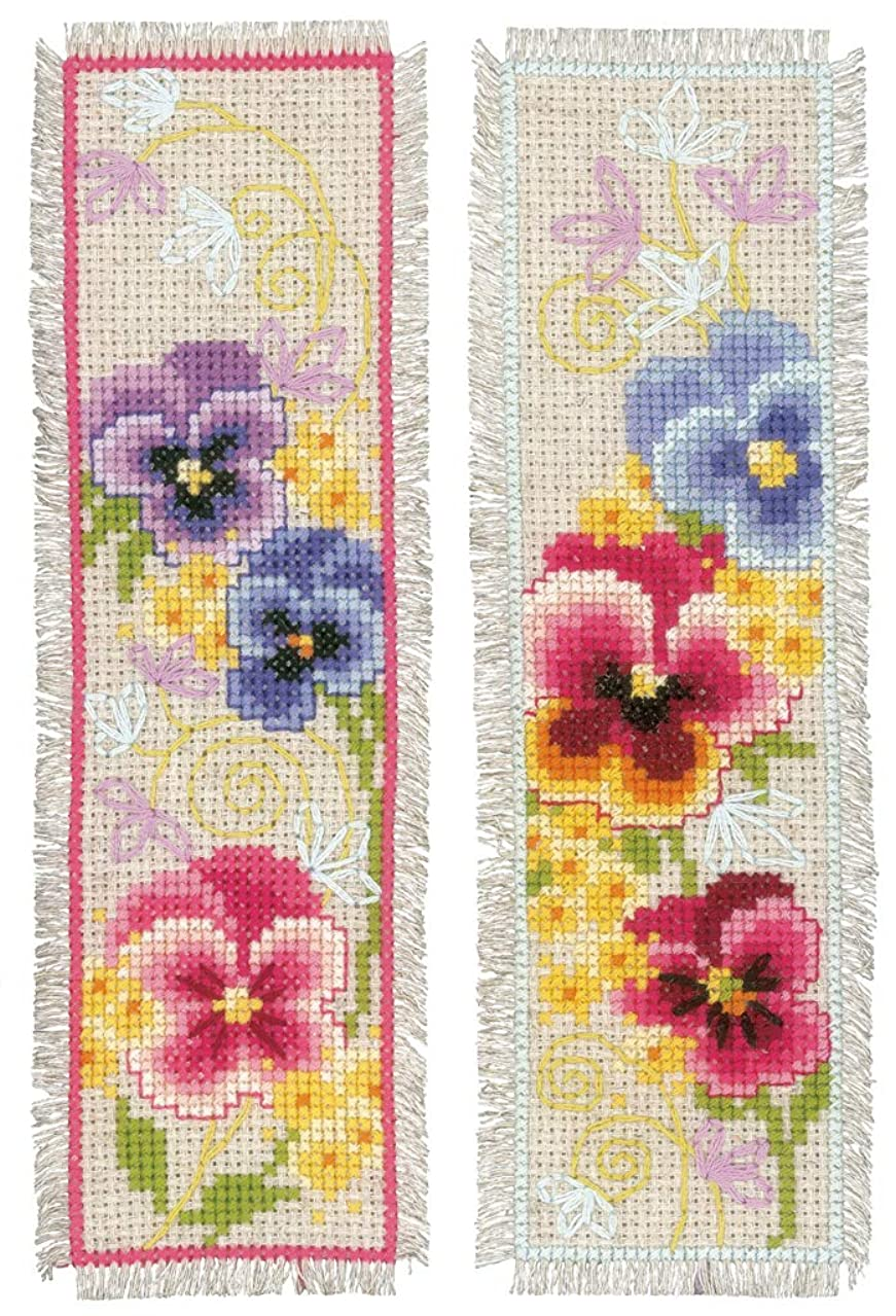 Vervaco Bookmark Counted Cross Stitch Kit 2.5