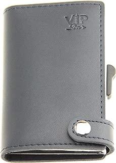Slim RFID Blocking Credit Card Holder Smart Aluminium Wallet for Men Ladies max 8 cards