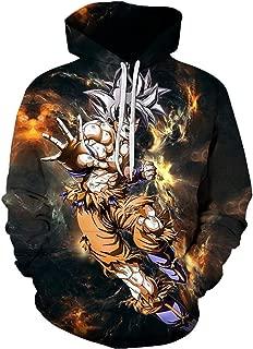 3D Men Hoodies Anime Z Unisex Jacket Vegeta Super Saiyan Goku Ultra Instinct #J18