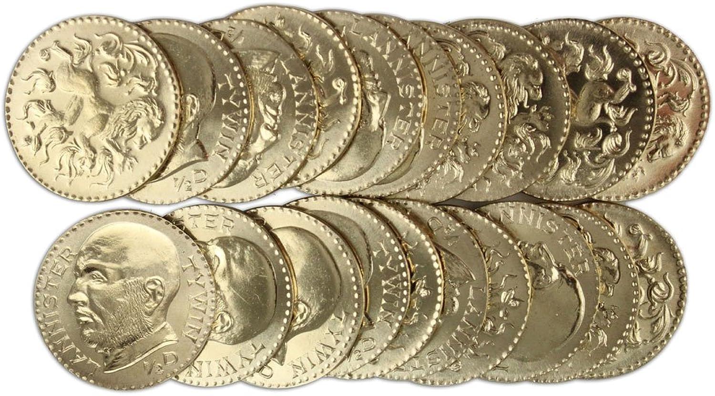 Mercancía de alta calidad y servicio conveniente y honesto. Juego de Tronos Set de de de Monedas Tywin Lannister oroen Half-Dragons  Venta al por mayor barato y de alta calidad.