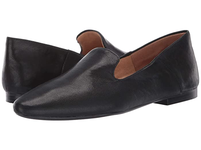 Retro Vintage Flats and Low Heel Shoes Naturalizer Lorna Black Grain Leather Womens Shoes $59.84 AT vintagedancer.com
