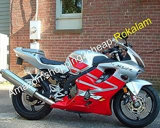 LoveMoto Full Motorcycle Fairing Bolt Screw Kit For Honda CBR 600 F4i 01 02 03 CBR600F4i 2001 2002 2003 New Body Screws Aluminum Fasteners Hardware Clips Silver