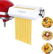 Pasta Maker Attachment for Kitchenaid Stand Mixer, Cofun 3 in 1 Pasta Machine Asseccories, Included Pasta Roller, Spaghett...