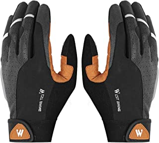WEST BIKING Cycling Gloves Anti-slip Breathable Men Anti-shock Outdoor Sport MTB Bicycle Motorcycle Gloves