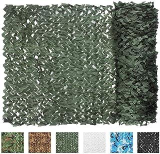 IUNIO Camouflage Netting Camo Net Blinds for Sunshade...