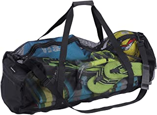 Extra Large Mesh Duffel Bag for Scuba Diving, Snorkeling, Swimming and Camping, Foldable Oversized Beach Duffel Bag with A...