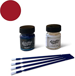 ScratchesHappen Exact-Match Touch Up Paint Kit Compatible with Tesla Muir Red/Red Multi/Sunset Red (PMMR/PPMR) - Essential