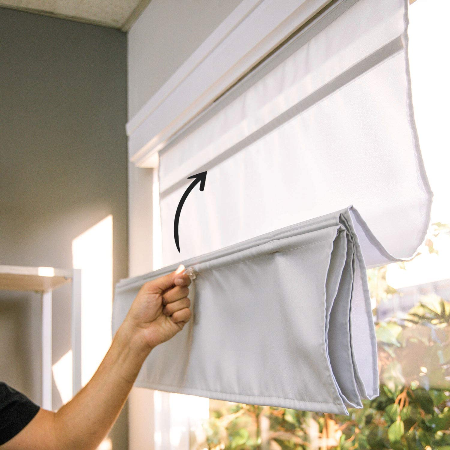 Max 51% OFF CHICOLOGY Roman Shades for Home Max 86% OFF Window Ro Windows