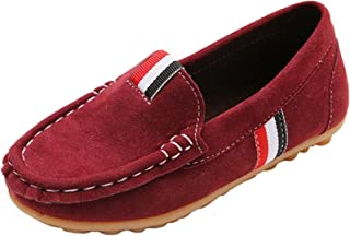 PPXID Mixte Enfant Chaussure Bateau Loisirs Confort Plates Loafers Chaussures