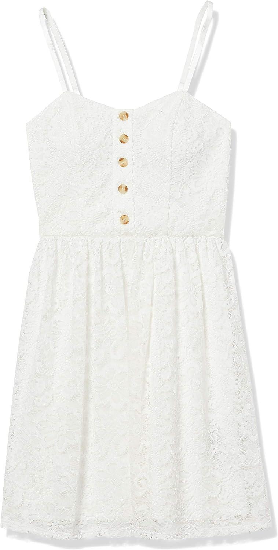 保障 A. Byer Women's Allover Lace Flare Dress Fit and 正規品送料無料