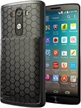 LG G3 Extended Battery Case. Hyperion LG G3 Extended Battery HoneyComb TPU Case / Cover (Fits Hyperion 6000mAh Extended Battery) [2 Year No Hassle Warranty] (CASE ONLY. Does not include battery)Hyperion Retail Packaging - BLACK