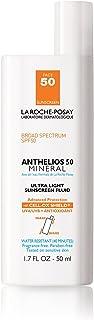 La Roche-Posay Anthelios Ultra-Light Mineral Sunscreen SPF 50, 1.7 Fl oz