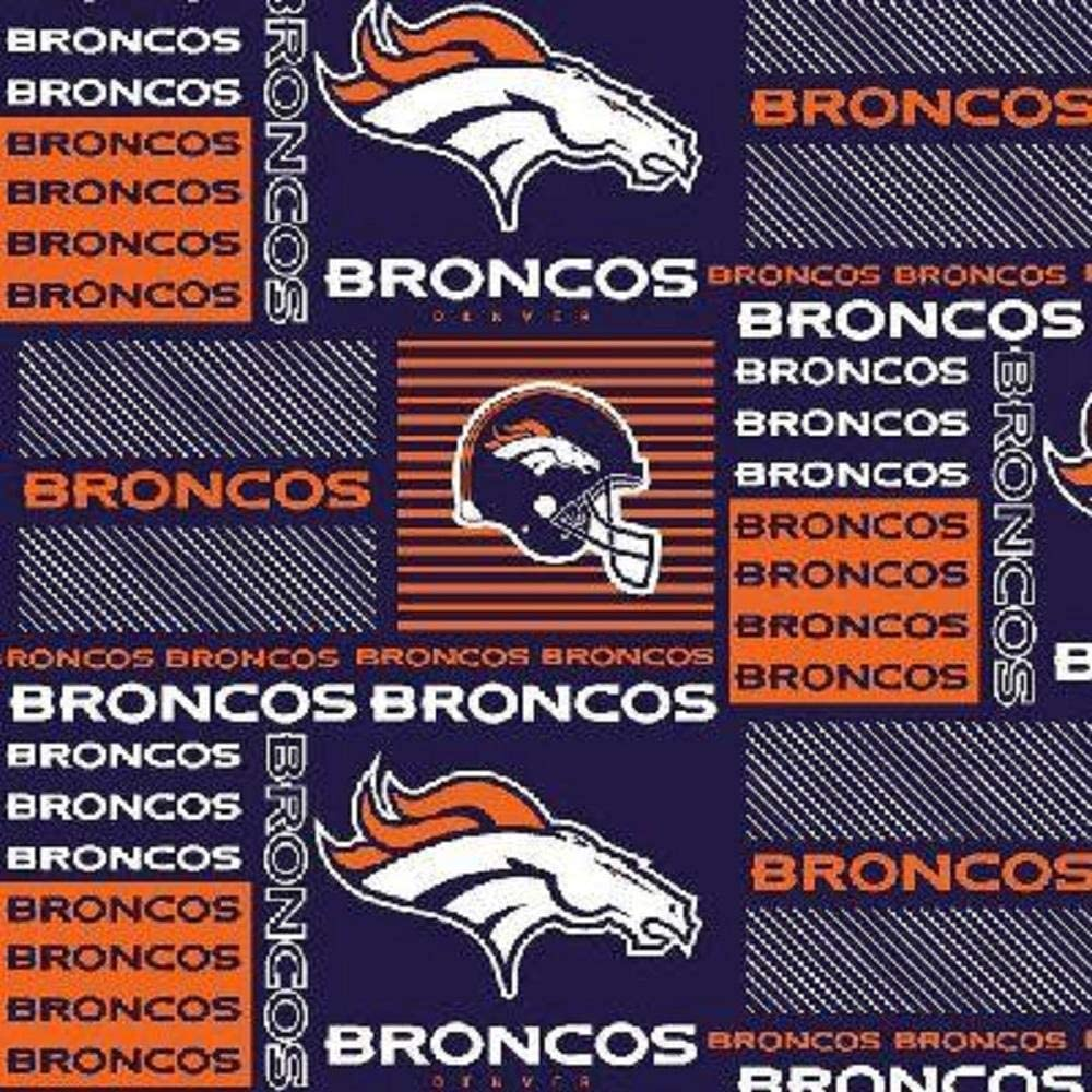 New product Broncos Patch Limited time sale Fabric Cotton