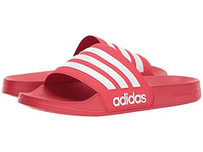 adidas Adilette Shower (Scarlet/White/Scarlet) Men