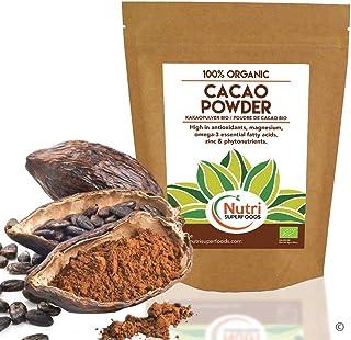 Cacao Orgánico en Polvo, Superalimento Vegano y Sin Azúcar - 200g