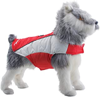 ThinkPet Soft Touch Waterproof Jacket, Warm Winter Dog Coat, Highly Visible Reflective Dog Vest