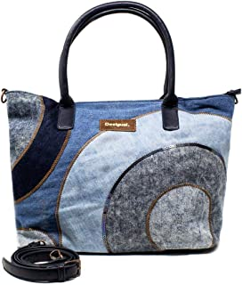 Luxury Fashion   Desigual Womens 19WAXD01BLUE Blue Tote   Fall Winter 19