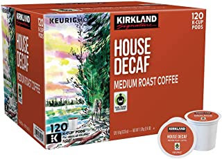 Kirkland Signature House Decaf Coffee 120 K-Cup Pods
