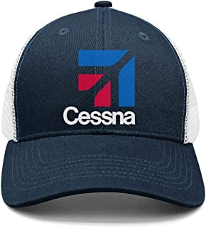 Unisex Trucker Hat for Mens Womens Chassic Cessna- Caps