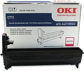 Oki Data 44318502 Image Drum for C711 Series Printers, 20000 Page Yield, Magenta