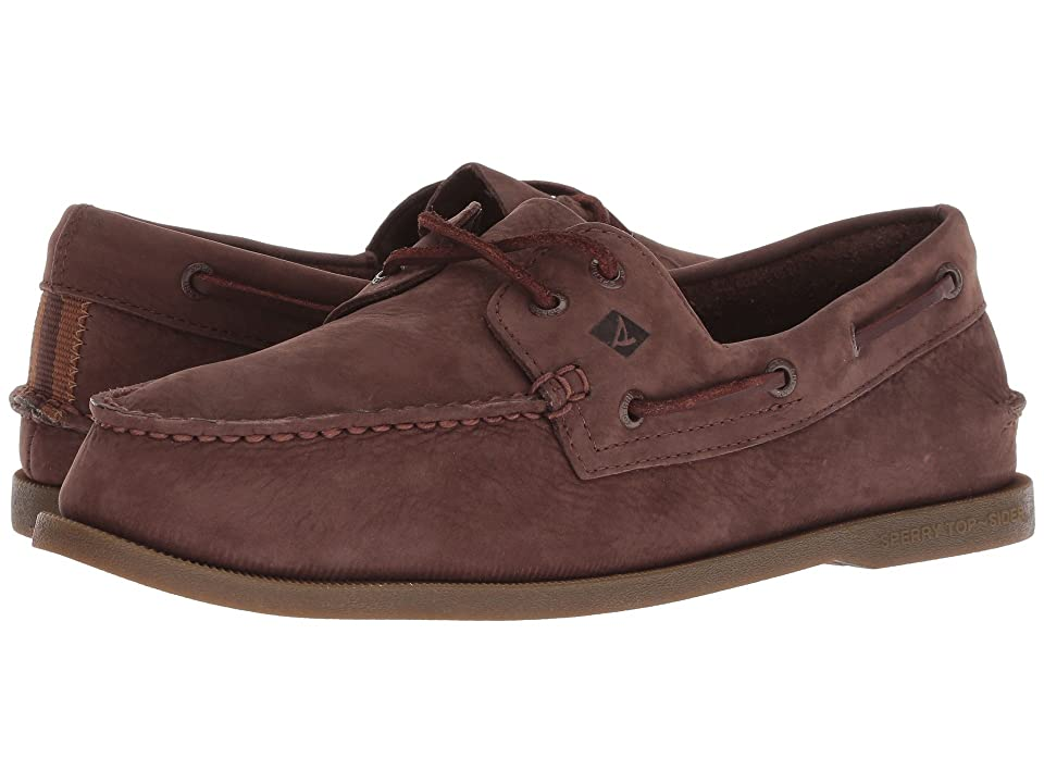 Sperry A/O 2-Eye Washable (Brown/Gum) Men