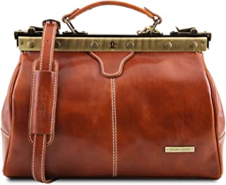 Tuscany Leather Michelangelo Borsa medico in pelle Miele