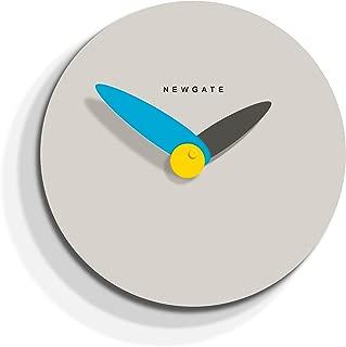 Newgate The Finger Clock-Overcoat Grey, Wood, 91 x 152 x 5 cm