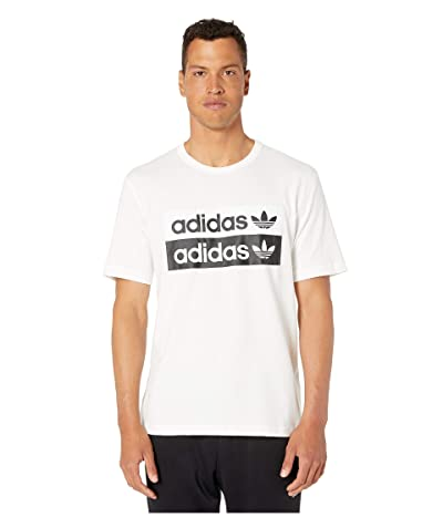adidas Originals Vocal Logo Tee (Core White) Men