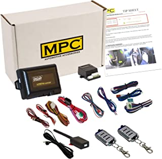 MPC Complete 4-Button Remote Start Keyless Entry Kit for 2005-2006 Ford F-250 - Firmware Preloaded