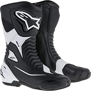 3404-0788 Black, EU Size 38 Alpinestars SMX-6 Mens Motorcycle Street Boots Vented
