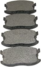 Morse MKD297 Friction Master Premium Semi-Metallic Front Disc Brake Pads