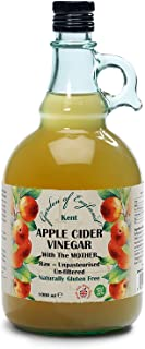 "Kent Apple Cider Vinegar 1 x 1L | With ""Mother"" 