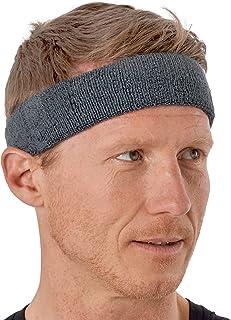 Sweat Headbands - Sweatbands for Men & Women - Terry Cloth Head Sweat Bands for Tennis, Basketball, Football, Exercise, Wo...